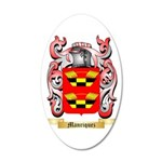 Manriquez 35x21 Oval Wall Decal