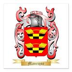 Manrique Square Car Magnet 3