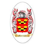 Manrique Sticker (Oval)