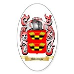 Manrique Sticker (Oval 50 pk)