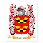 Manrique Small Poster