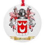 Manon Round Ornament