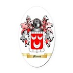Manon Oval Car Magnet