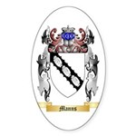 Manns Sticker (Oval)