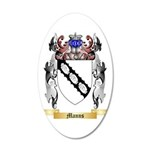Manns 35x21 Oval Wall Decal