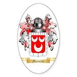 Mannion Sticker (Oval 10 pk)