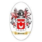 Mannion Sticker (Oval 50 pk)