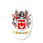 Mannion 20x12 Oval Wall Decal