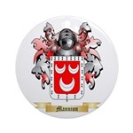 Mannion Round Ornament