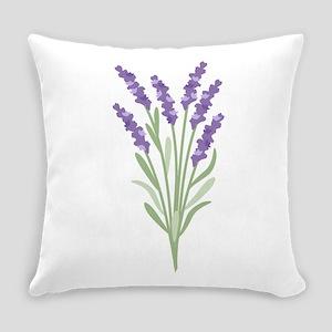 Lavender Flower Everyday Pillow