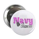 Navy Fiancee Button