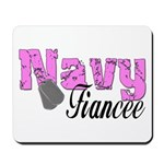 Navy Fiancee Mousepad