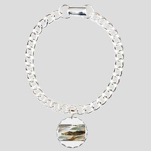 Acadia National Park Coa Charm Bracelet, One Charm