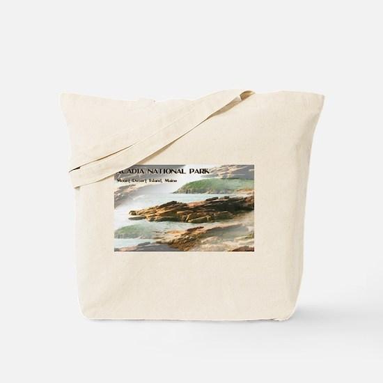 Acadia National Park Coastline Tote Bag