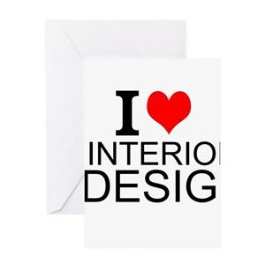 Interior Design Greeting Cards Cafepress