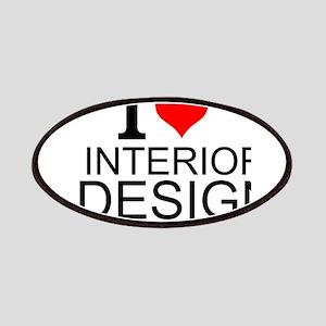 I Love Interior Design Patch