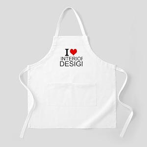 I Love Interior Design Apron
