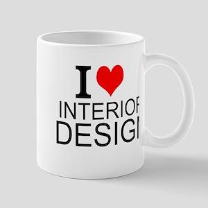 I Love Interior Design Mugs