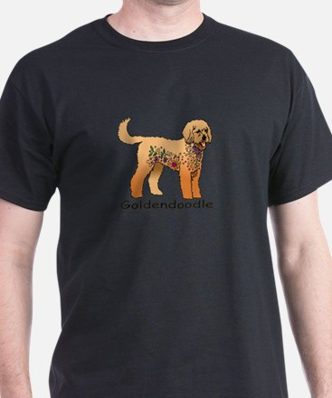 Tangle Goldendoodle T-Shirt