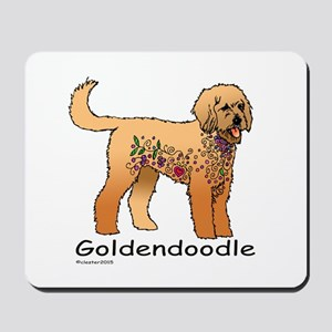 Tangle Goldendoodle Mousepad