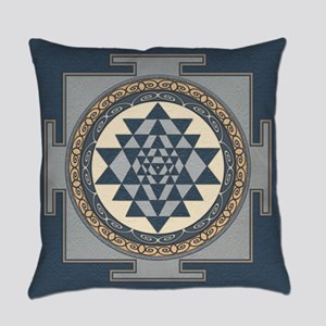 SriYantra_Uni_Lrg_Bleed Everyday Pillow