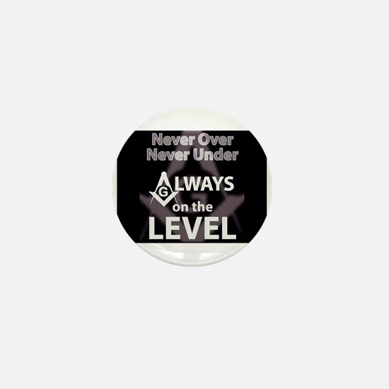On The Level Mini Button (10 pack)