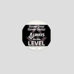 On The Level Mini Button