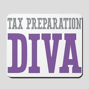 Tax Preparation DIVA Mousepad