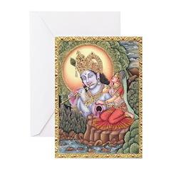 Vision of Krishna Greeting Cards (Pk of 20)