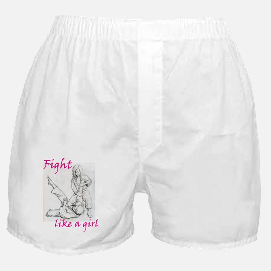 Unique Karate girl Boxer Shorts