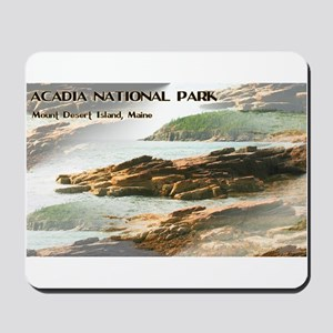 Acadia National Park Coastline Mousepad