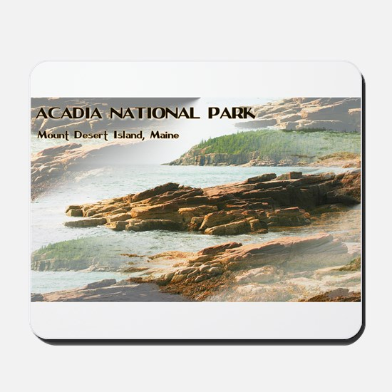Acadia National Park Coastline Mousepad