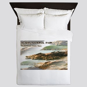 Acadia National Park Coastline Queen Duvet
