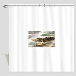 Acadia National Park Coastline Shower Curtain
