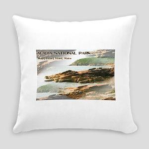 Acadia National Park Coastline Everyday Pillow