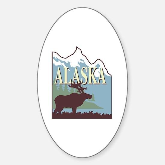 Funny Juneau Sticker (Oval)