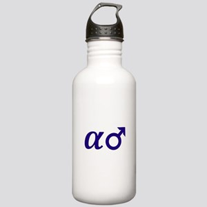 Alpha Male Stainless Water Bottle 1.0L