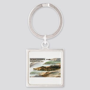 Acadia National Park Coastline Keychains
