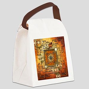 Steampunk Canvas Lunch Bag