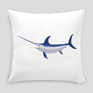 Swordfish Everyday Pillow