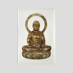 Lucky Buddha Statue Magnets