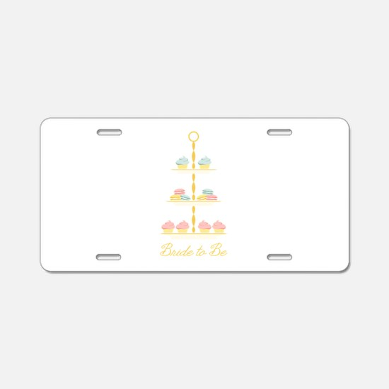 Bride to Be Stand Aluminum License Plate