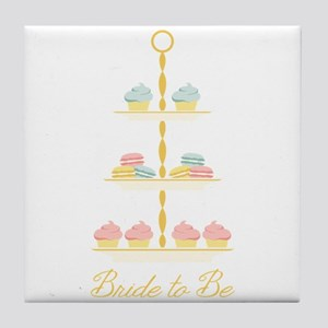 Bride to Be Stand Tile Coaster