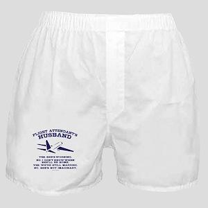 Flight Attendant's Husband Boxer Shorts