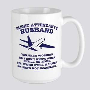 Flight Attendant's Husband Mugs