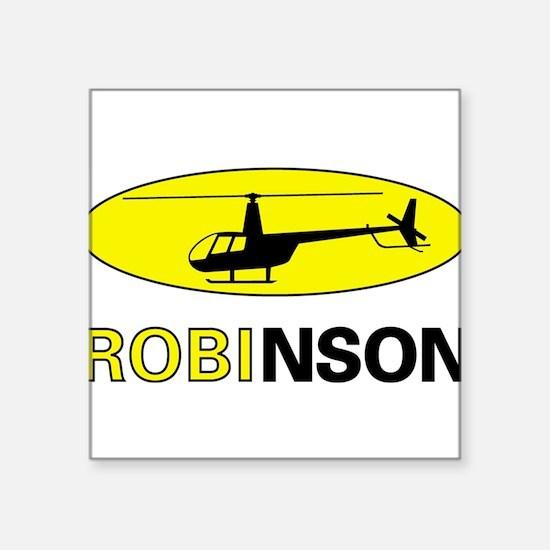 """Cute Will robinson Square Sticker 3"""" x 3"""""""