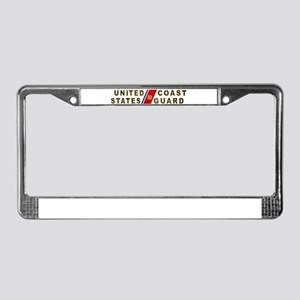 uscg_x License Plate Frame