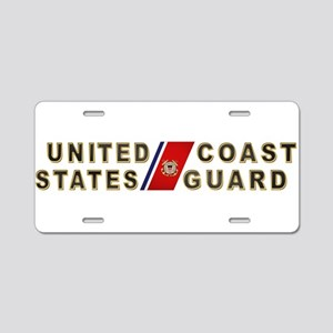 uscg_x Aluminum License Plate