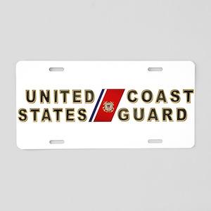 uscg_x Aluminum License Plate