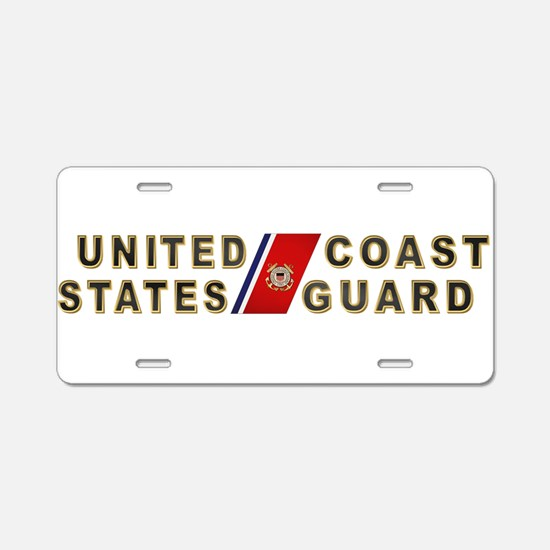 uscg_x.png Aluminum License Plate